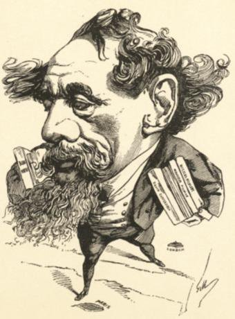 Dickens Cartoon